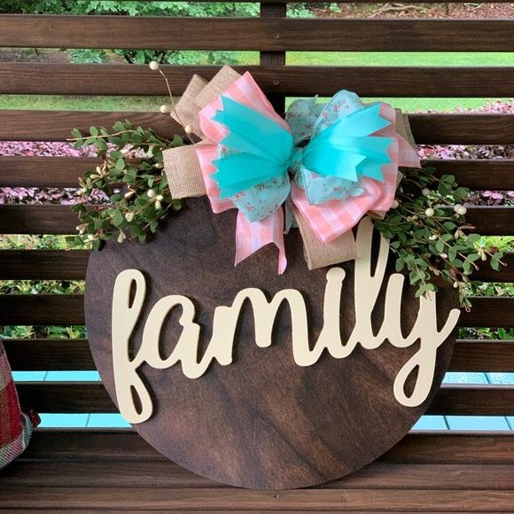 Family Door Hanger